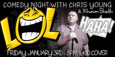 Comedy Night with Chris Young & Khurm Sheikh