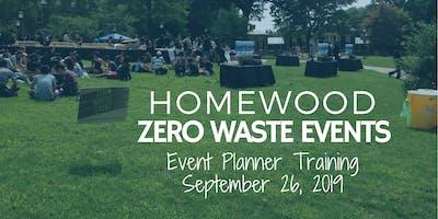 2019 Homewood Zero Waste Event Training