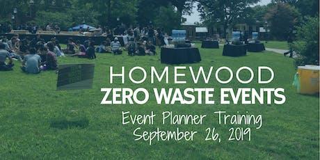 2019 Homewood Zero Waste Event Training tickets