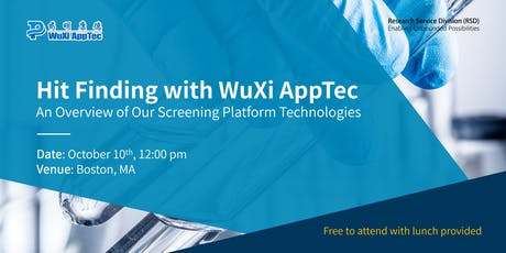 Hit Finding with WuXi AppTec tickets