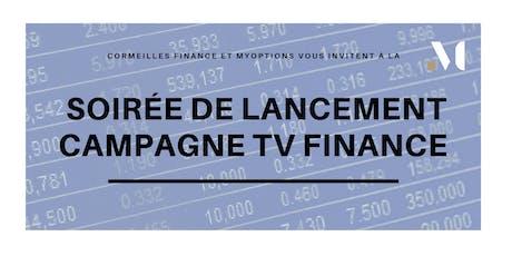 A la rencontre de TV Finance, en campagne sur myOptions ! billets