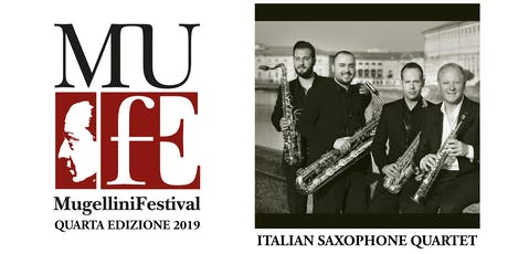 ITALIAN SAXOPHONE QUARTET - FEDERICO MONDELCI MUFE 4 biglietti