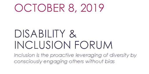 Human Resource Professionals Disability & Inclusion Forum