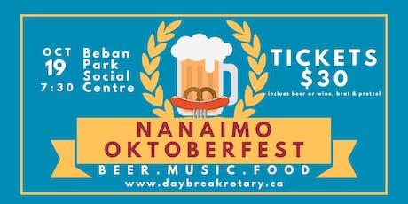 Nanaimo Oktoberfest tickets