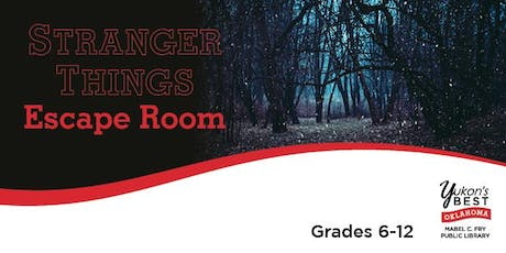 Stranger Things Escape Room - 6 P.M. tickets