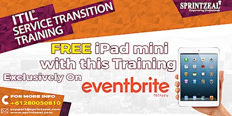 ITIL® Service Transition Training in Gold Coast tickets