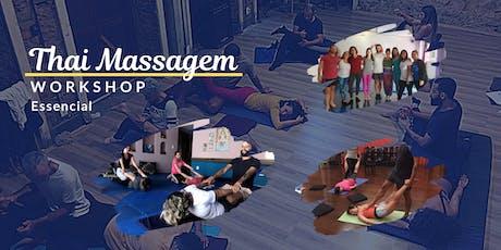 11º Workshop - Thai Massagem Essencial ingressos