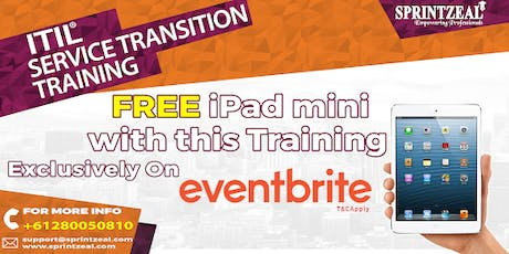 ITIL® Service Transition Training in Melbourne tickets