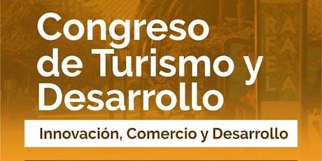 Congreso Turismo y Desarrollo Rafaela 2019 entradas