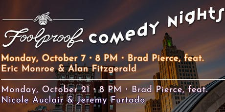 October Foolproof Comedy Night @ The Rooftop tickets