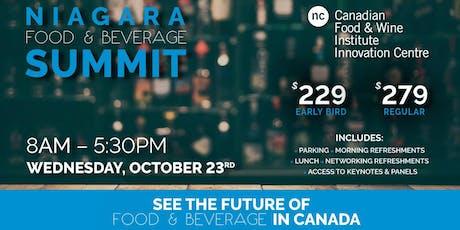 Niagara Food & Beverage Summit tickets