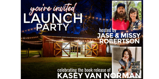 Kasey Van Norman Book Launch Party