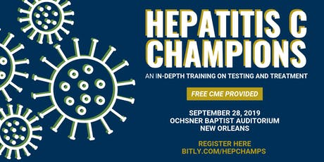 Hepatitis C Champions Training tickets