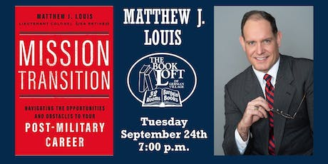 Matthew J. Louis - Mission Transition tickets