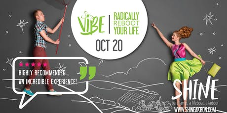 VIBE:  Radically Reboot Your Life Workshop tickets