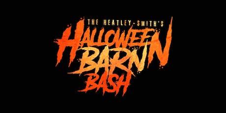The Heatley-Smith's 12th Annual Halloween Barn Bash tickets