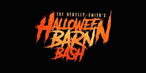 The Heatley-Smith's 12th Annual Halloween Barn Bash