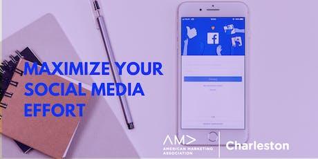 Coffee Talk: Maximize Your Social Media Effort tickets