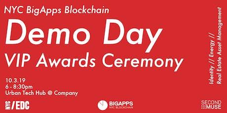 NYC BigApps Blockchain Awards Ceremony tickets