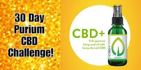 30 Day Purium CBD Challenge! tickets