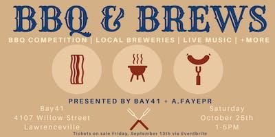 BBQ & Brews at Bay41