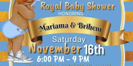 Mariama & Brihem's Baby Shower tickets