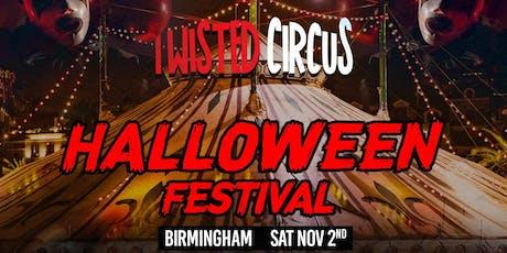 Twisted Circus Halloween Festival - Birmingham tickets