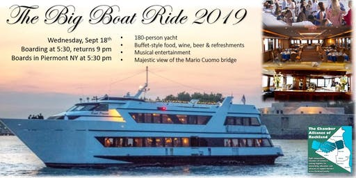 Big Boat Ride 2019 - Chamber Alliance of Rockland