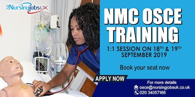 NMC OSCE (Objective Structured Clinical Examination) Training 1 to 1 Course