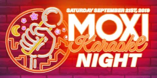 Moxi Karaoke Night