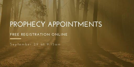 Free Prophecy Appointments