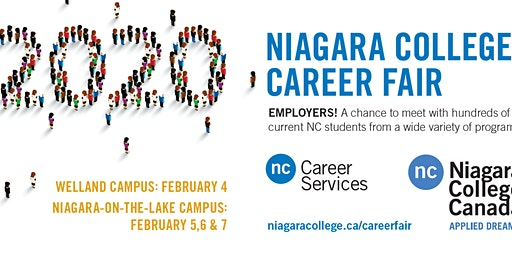 Niagara College Career Fairs 2020