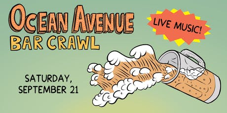 Ocean Avenue Bar Crawl 2019 tickets