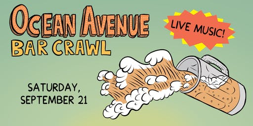 Ocean Avenue Bar Crawl 2019