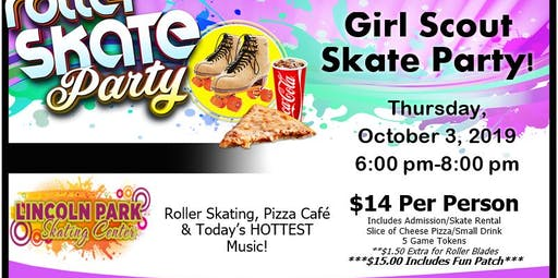 Girl Scout Skate Night