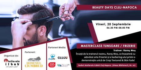BEAUTY DAYS  CLUJ - Masterclass de tunsoare - Look & Learn tickets