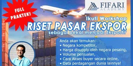 Workshop Riset Pasar Ekspor tickets