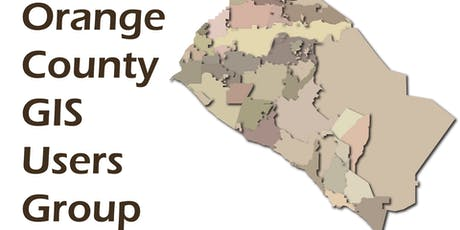 Orange County GIS Users Group Fall 2019 Meeting tickets