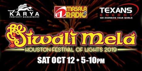Houston Diwali Mela - Festival of Lights 2019 tickets