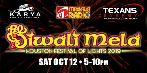 Houston Diwali Mela - Festival of Lights 2019