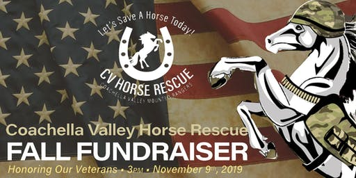 Coachella Valley Horse Rescue Fall Fundraiser