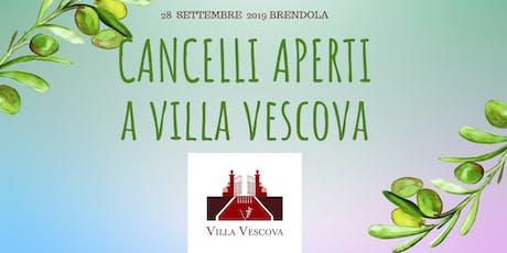 VIVI LA VILLA || CANCELLI APERTI A VILLA VESCOVA biglietti