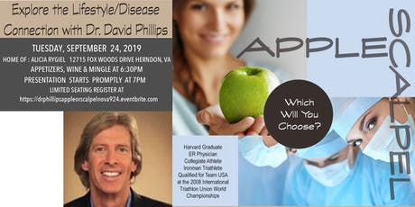Apple or Scalpel , Explore the Lifestyle/Disease Connection  tickets