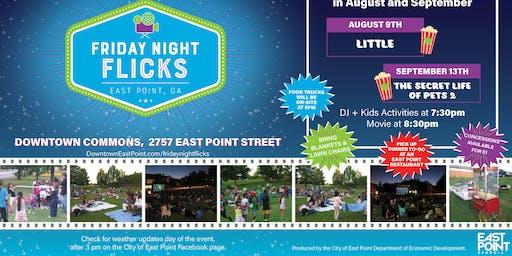 East Point Friday Night Flicks Sponsorship