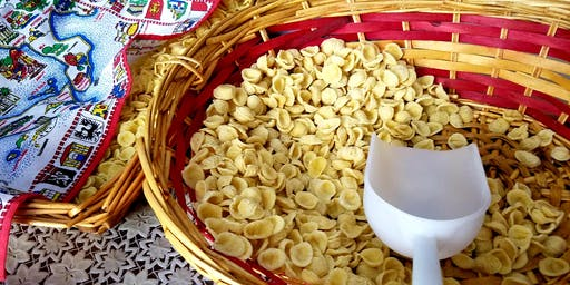 Specialty & Artisanal Pasta: Orecchiette & eggs-free pasta (Monday Oct. 28th at 11am)