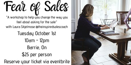 Fear of Sales Workshop tickets