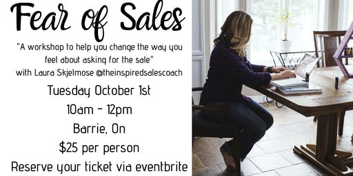 Fear of Sales Workshop