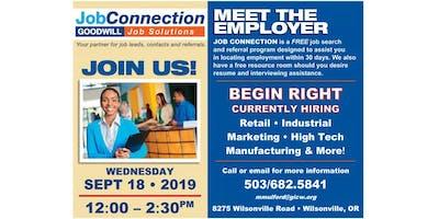 Hiring Event - Wilsonville - 9/18/19