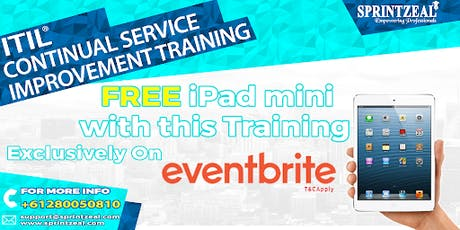 ITIL® Continual Service Improvement Certification Training in Perth tickets