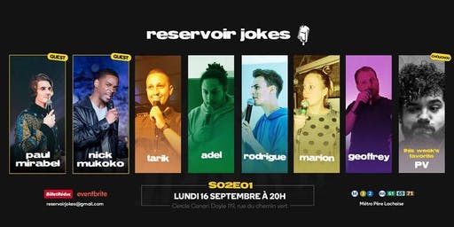 Reservoir Jokes S02E01